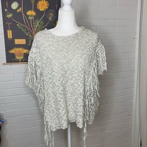 Chunky knit top S